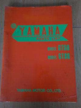 Yamaha GT 50 / GT 80 - Parts-List