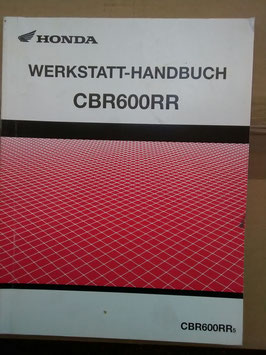 Honda CBR 600 RR – Werkstatt- Handbuch- Zusatz