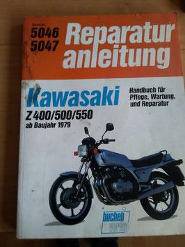 Kawasaki Z 400/500/550 (ab '79) - Reperaturanleitung