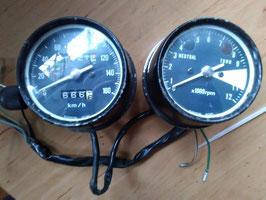 Honda CB 250 K  - originale Armaturen / Tacho & Drehzahlmesser