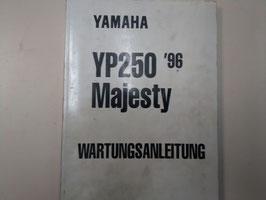 Yamaha YP 250  (1996) Majesty - Wartungsanleitung