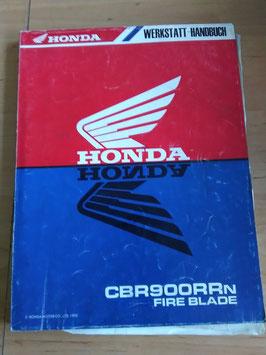 Honda CBR 900 - Werkstatt-Handbücher +Zusätze im Paket
