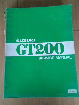 Suzuki GT 200 - Service Manual