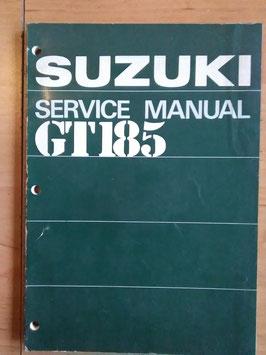 Suzuki GT 185 - originales Werkstatt- Handbuch