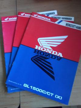 Honda GL 1500  - Werkstatt-Handbuch-Zusatz im Paket