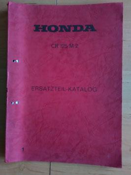 Honda CR 125 M2 - Ersatzteile-Katalog