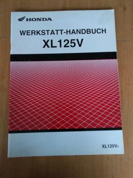 Honda XL 125 V - Werkstatt-Handbuch