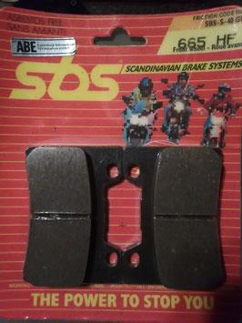SBS– Bremsbeläge  665 HF