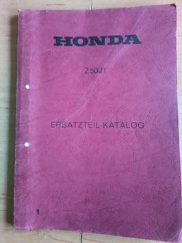 Honda z 50 J1- Ersatzteile-Katalog