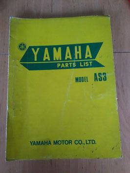 Yamaha AS 3 - Parts-List
