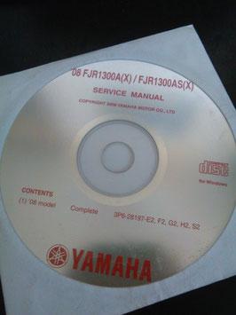 Yamaha Werkstatthandbücher auf CD (original) - 1300 ccm