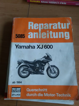 Yamaha XJ 600 - originale Reperaturanleitung