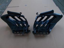 Yamaha YFM 700 Raptor - 2 Fußrasten links/ rechts mit Fersenschutz