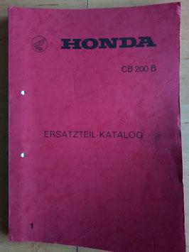 Honda CB 200 (B) - Ersatzteile-Katalog