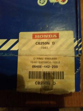 Honda CB 250 N (D)Bj. 1983 - originaler kompletter Kettensatz