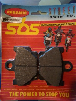 SBS– Bremsbeläge  550 HF FR