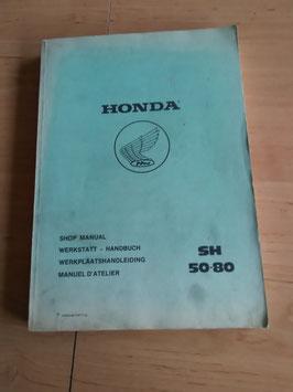 Honda SH 50-80 - Werkstatt-Handbuch