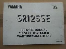 Yamaha SR 125 SE – Wartungsanleitung
