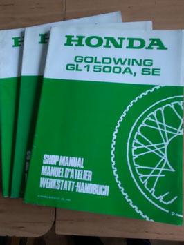 Honda GL 1500 Goldwing -  Werkstatt- Handbücher im Paket