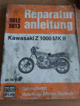 Kawasaki Z 1000 MK II (ab '79) - Reperaturanleitung