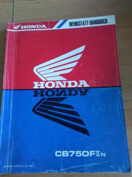 Honda CB 750 - Werkstatt-Handbuch + Zusätze im Paket