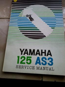 Yamaha 125 / AS 3  – originale Service Manual