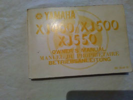 Yamaha XJ 400/500/550 - originale Wartungsanleitung