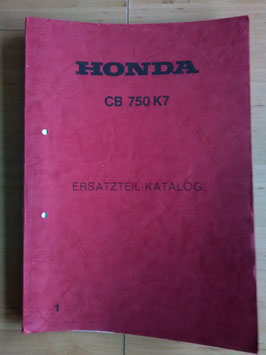 Honda CB 750 K7 - Ersatzteile-Katalog