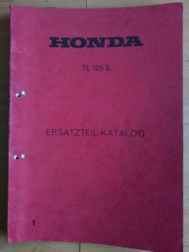 Honda TL 125 S - Ersatzteile-Katalog