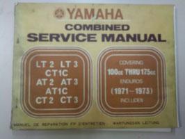 Yamaha LT/AT/CT- Serienmaschinen - Wartungsanleitung