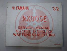 Yamaha RX 80 SE ('82) - Wartungsanleitung