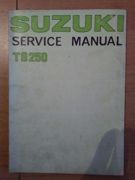 Suzuki TS 250 - originales Werkstatt- Handbuch