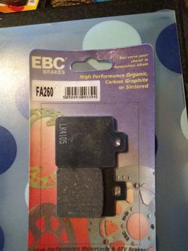 EBC- Bremsbeläg FA 260