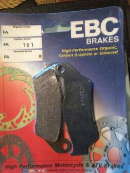 EBC- Bremsbeläg FA 181