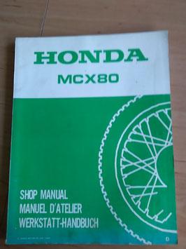 Honda MCX 80 - Werkstatt-Handbuch