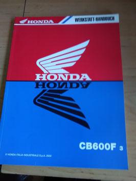 Honda CB 600 F3 - Werkstatt-Handbuch