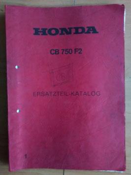 Honda CB 750 F2 - Ersatzteile-Katalog