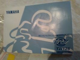 Yamaha TW 125 - originale Bedienungsanleitung