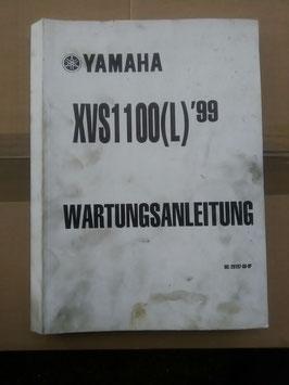 XVS 1100 (L) 1999 -Wartungsanleitung
