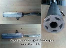 Speed Prodact Endschalldämpfer