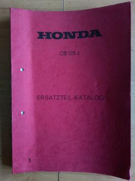 Honda CB 125 J - Ersatzteile-Katalog