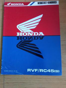 Honda RVF / RC 45 (S) - Werkstatt-Handbuch -Zusatz