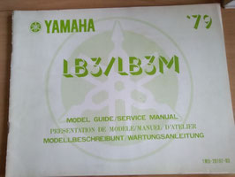Yamaha LB 3 / LB 3M - Wartungsanleitung