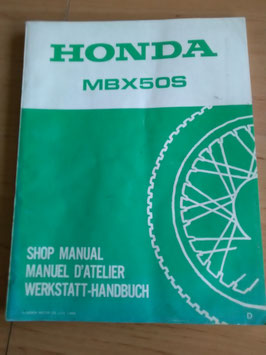 Honda MBX 50S - Werkstatt-Handbuch im Paket
