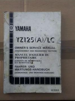 Yamaha YZ 125 (A) LC -Wartungsanleitung
