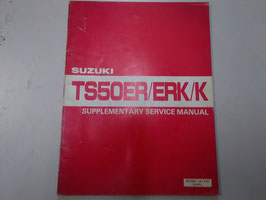 TS 50 ER/ERK/K -Werkstatt-Handbuch