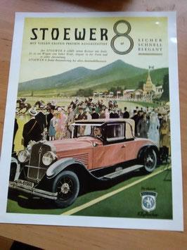 Stoewer - 8 Zylinder