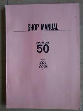 Honda SS 50 - originales Werkstatt- Handbuch Rarität!