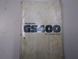 Suzuki GS 400 Werkstatt - Handbuch