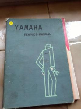 Yamaha 4 verschiedene originale Repair Handbook
